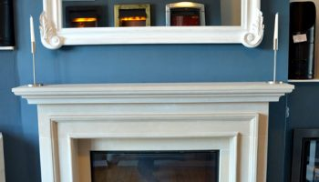 Showroom Display Fireplace