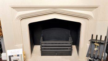 Fire Basket In FireCraft Fireplace