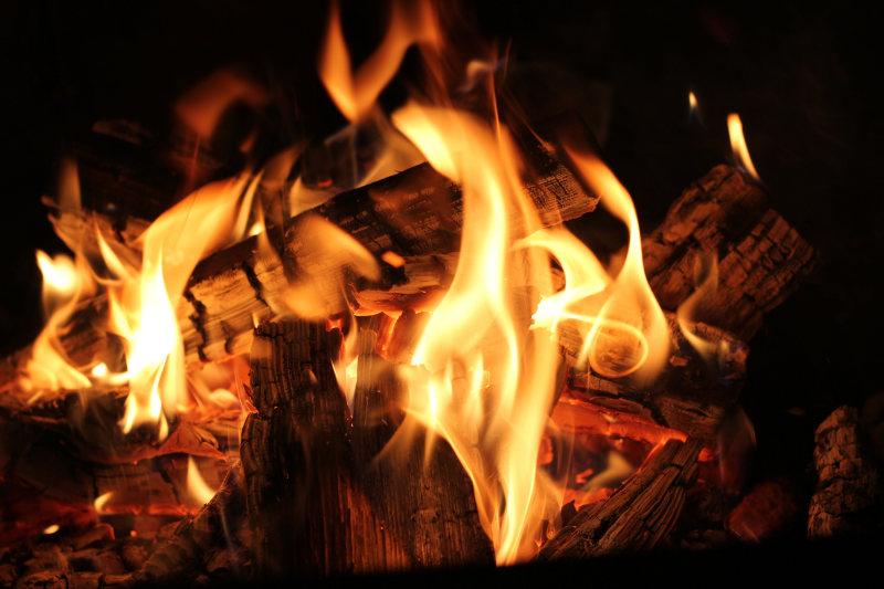 Lit Fire